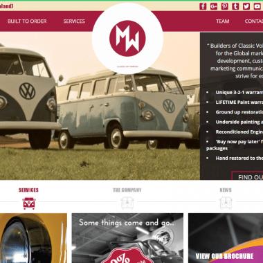 Custom Catalogue Website